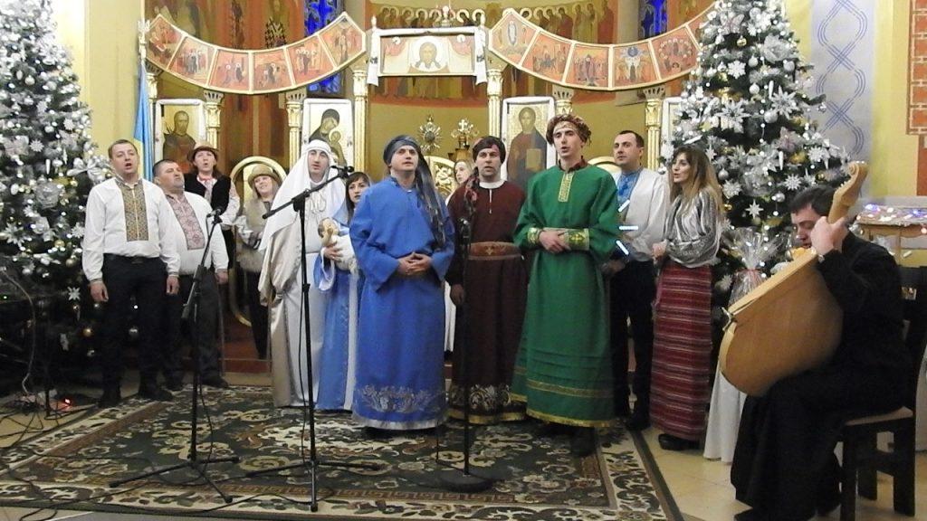 Вертеп села Великі Глібовичі