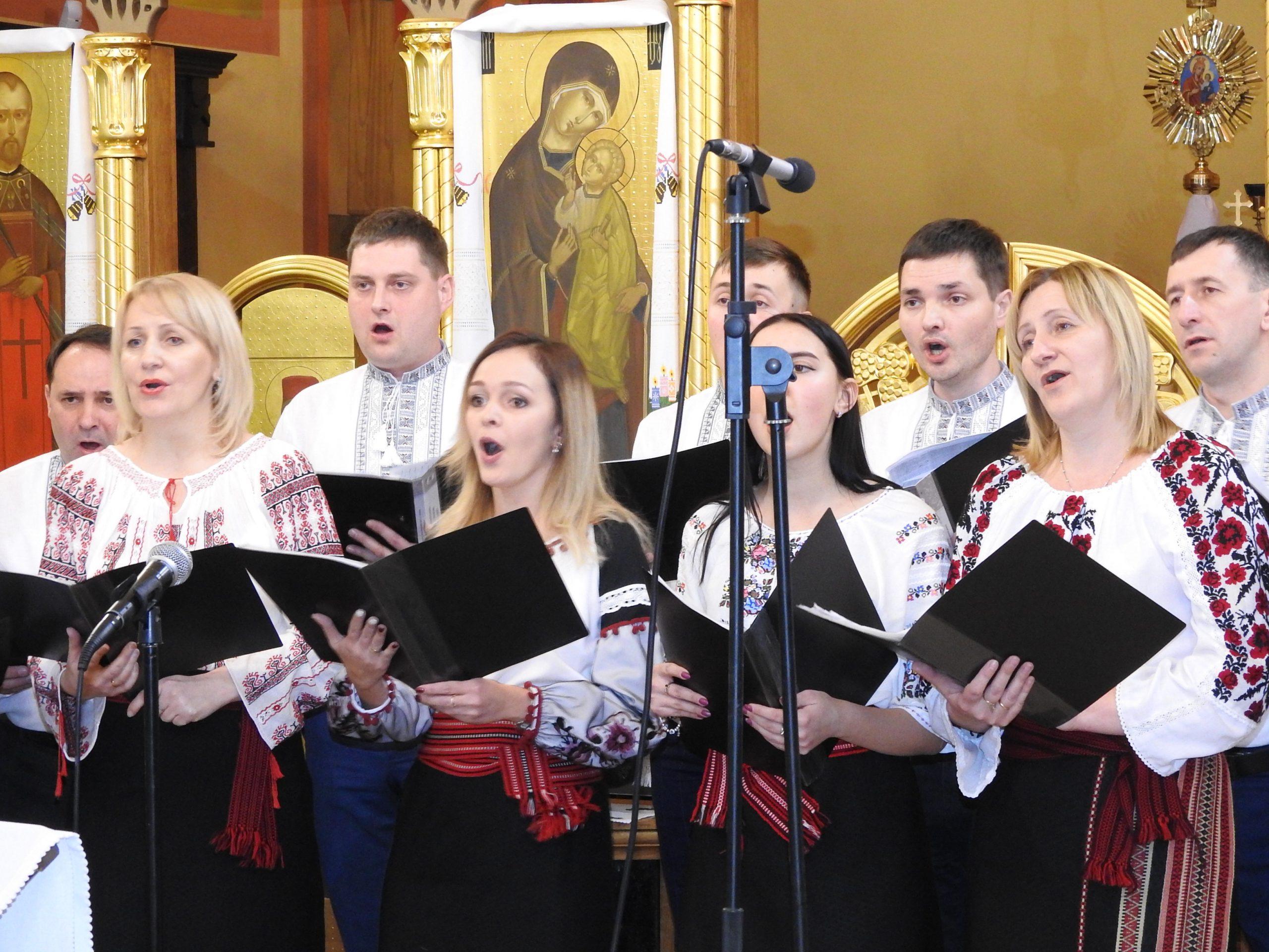 Спільна коляда хорових колективів с. Суховоля